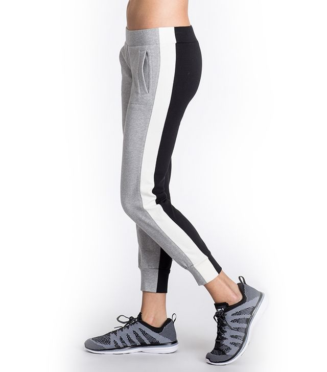 Norma Kamali Side Stripe Job Pants Combo