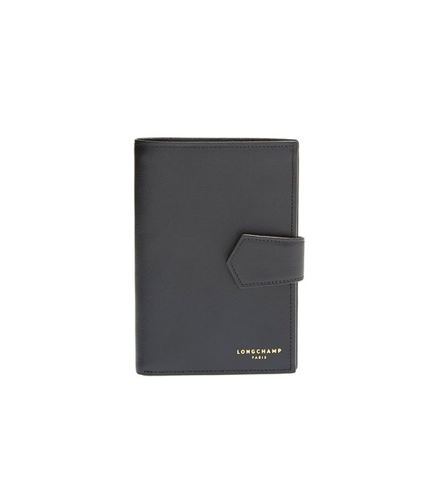 Longchamp 2.0 Leather Passport Wallet