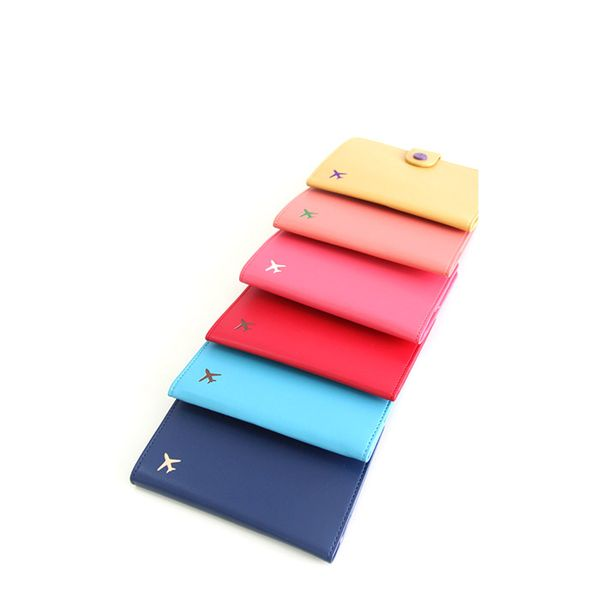 Mochi Things Plane Anti Skimming Passport Case