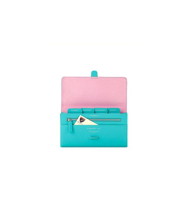 Aspinal of London Aqua Classic Travel Wallet