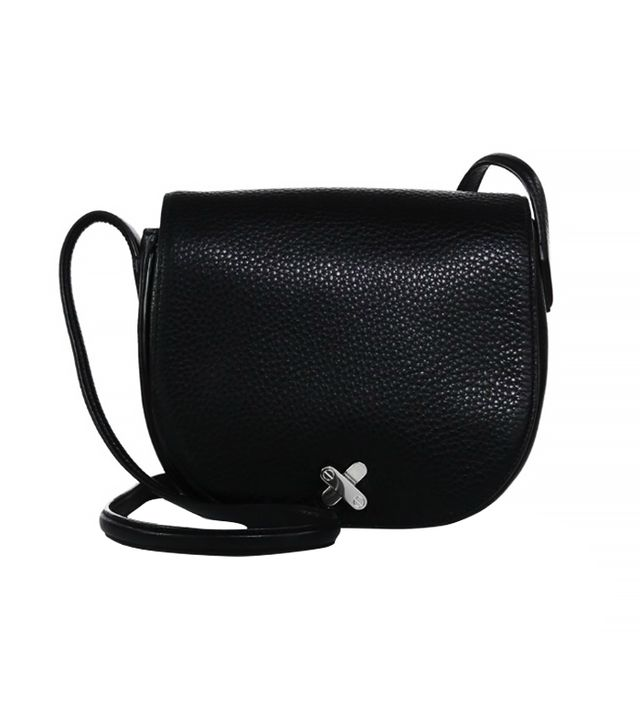 Alexander Wang Lia Cruz Leather Saddle Bag