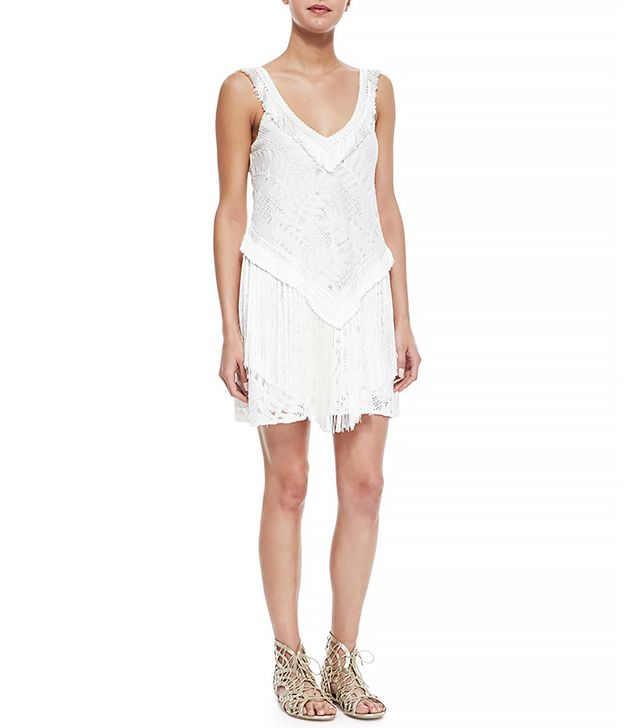 Alexis Austin Lace Fringe Dress