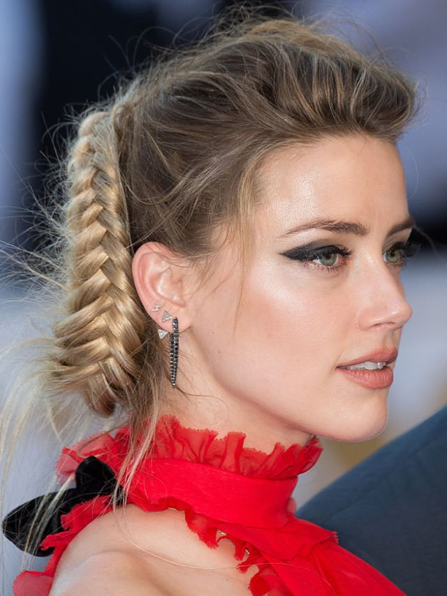 You HAVE to See Amber Heard's Mind-Boggling Braid