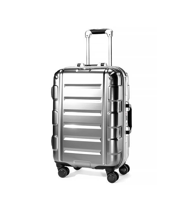 "Samsonite Cruisair Bold 22"" Hardside Spinner Suitcase in Silver"