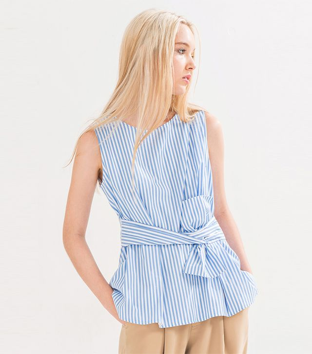 Front Row Shop Stripe Blouse