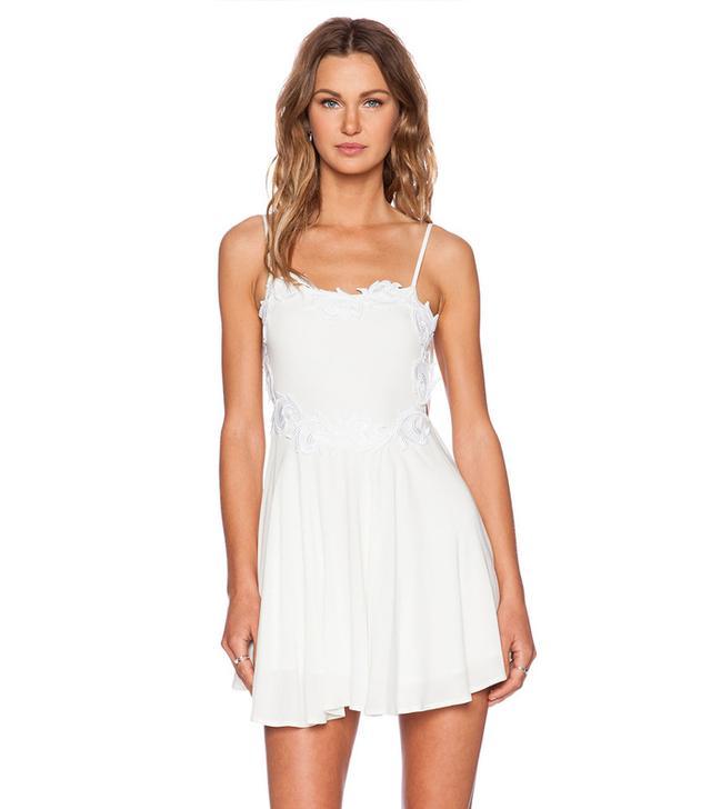 For Love & Lemons Sahara Mini Dress