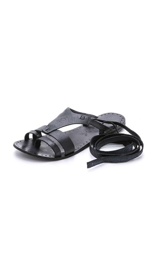 Free People Oliver Wrap Sandals
