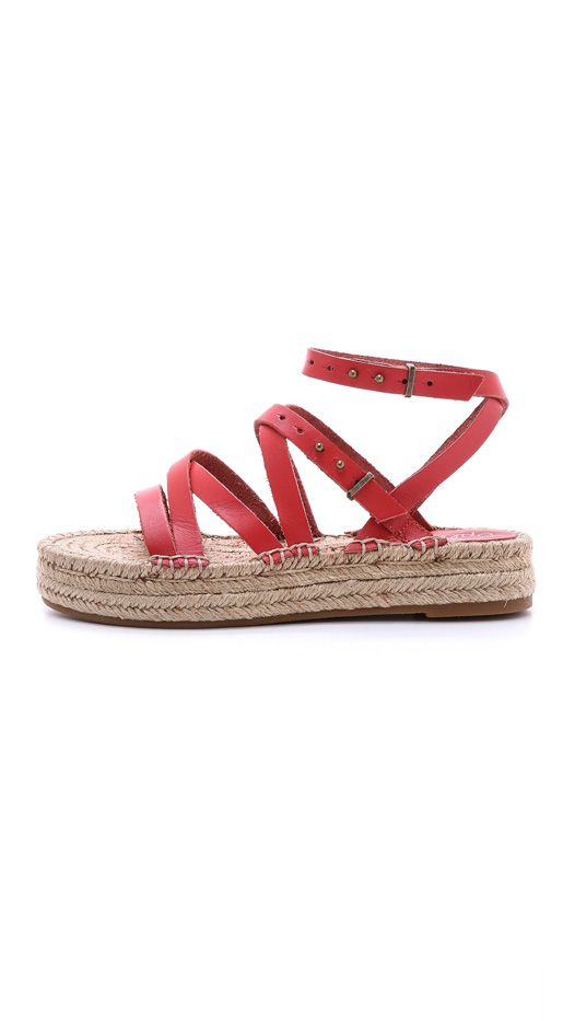 Splendid Erin Double Espadrille Sandals