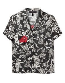 Isabel Marant Mick Hawaiian Print Shirt