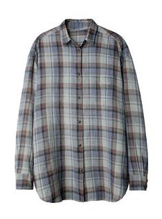 Organic by John Patrick  Plaid Shirt