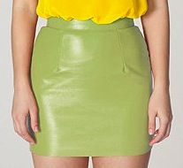 American Apparel American Apparel The Leather Mini Skirt