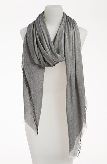 Nordstrom Allover Fringe Wrap