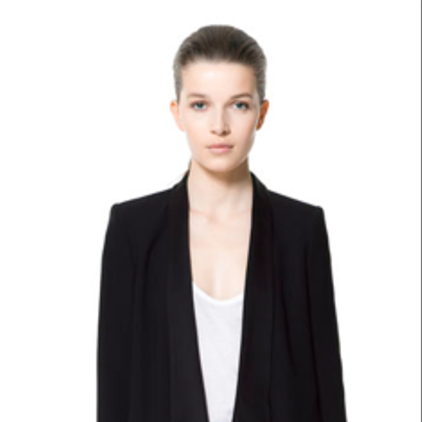 Zara Blazer with Combined Lapel