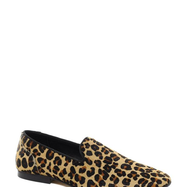 ASOS Loafers with Leopard Print
