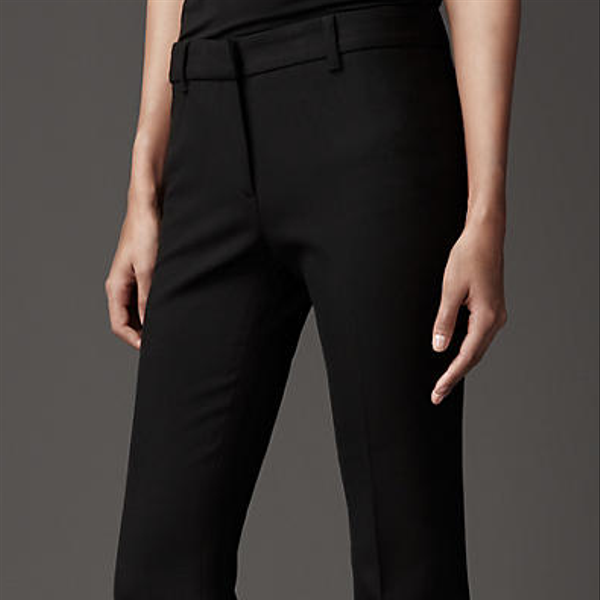 Burberry Minimal Tailored Trousers