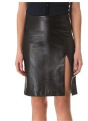M. Patmos M. Patmos Ernst Leather Skirt
