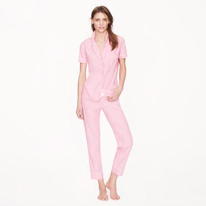 J.Crew Vintage Short Sleeve Pajama Set
