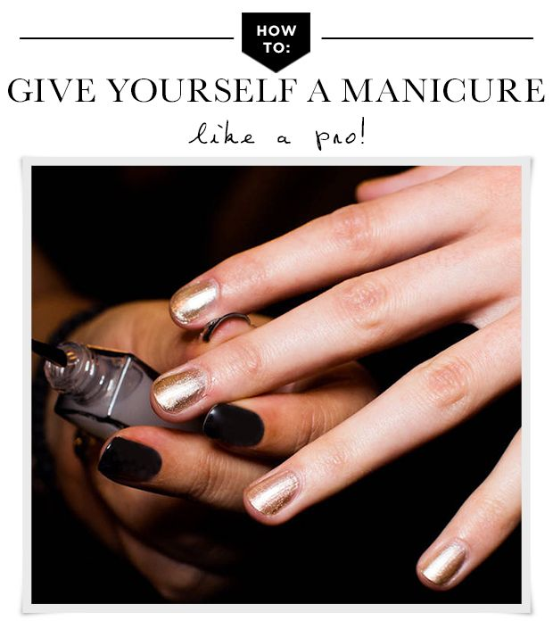 How To: Master An At-Home Manicure