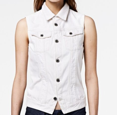 G Star Raw Essentials Arc Sleeveless Jacket