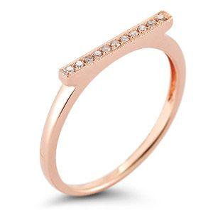 Dana Rebecca  Sylvie Rose Bar Ring