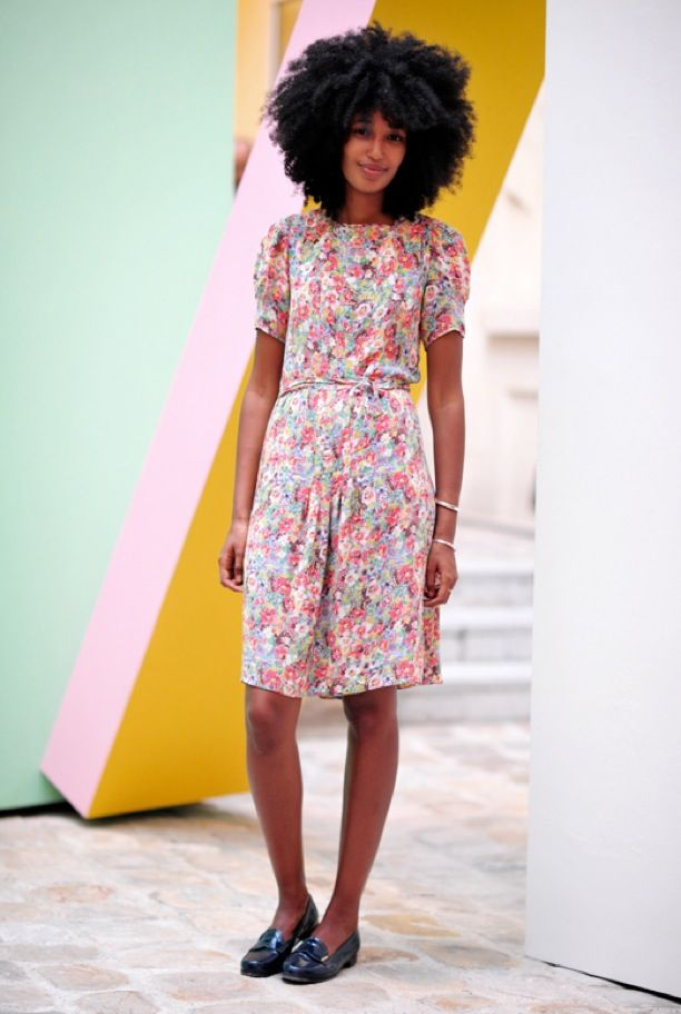 Street Style: Vintage-Inspired Florals