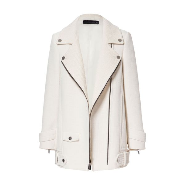 Zara Combination Jacket with Zips