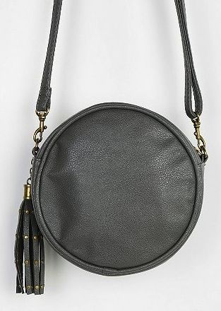 Deena & Ozzy Deena & Ozzy Studded Tassel Crossbody Bag