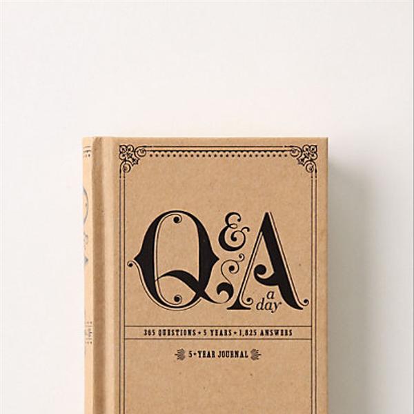 Paper Q&A A Day Journal