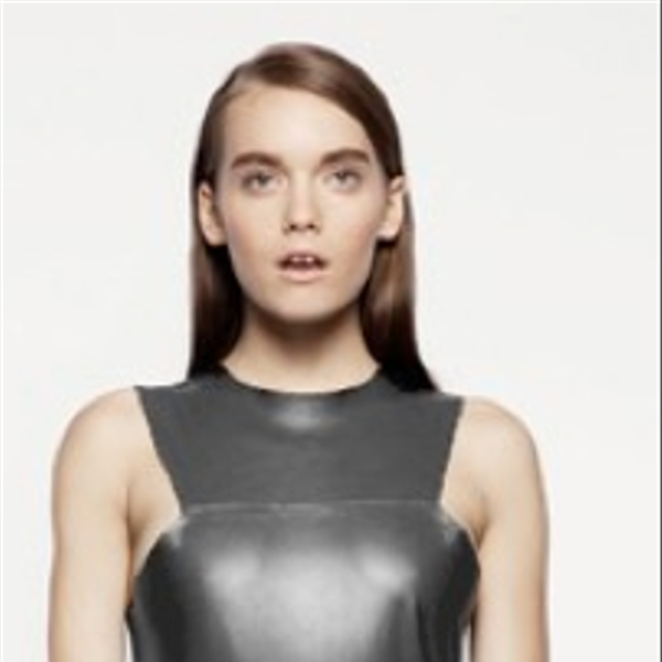 Kahlo Archibald Leather Dress Long