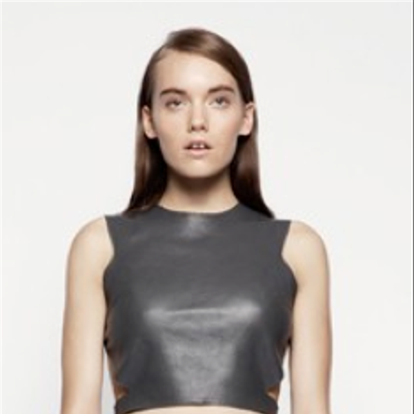 Kahlo Listless Leather Skirt