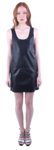 Kahlo Arresting Leather Dress