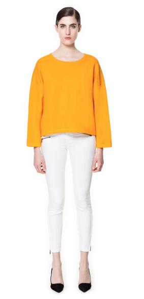 Zara Trousers with Zips