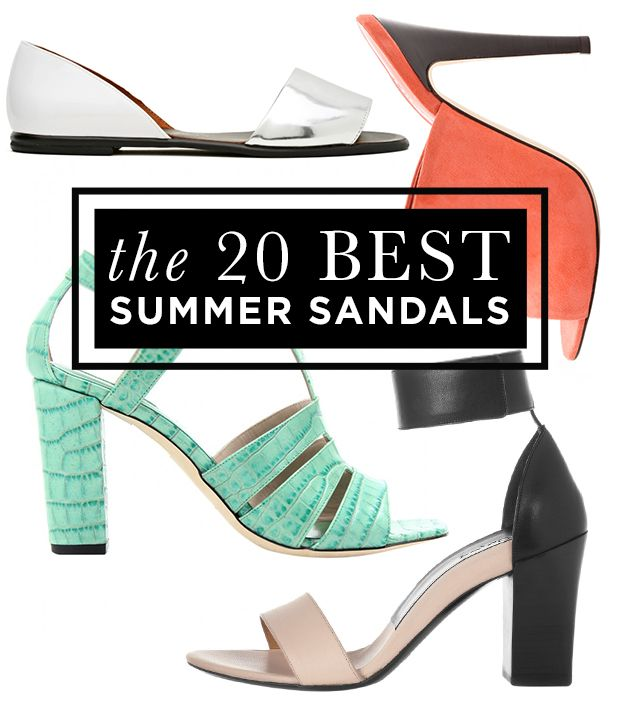 The 20 Best Summer Sandals To Go Buy Now