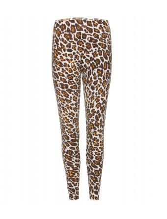 Stella McCartney Animal Print Wool Leggings