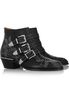 Chloe  Susanna Studded Leather Boots