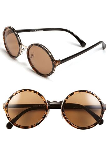 A.J. Morgan  Retro Round Sunglasses