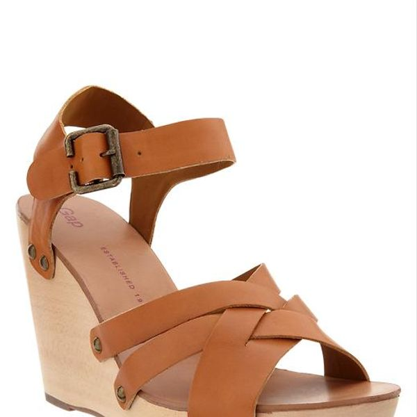 Gap  Wooden Wedge Sandals