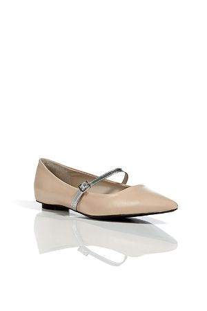 Marc Jacobs  Leather Pointy Mary-Janes