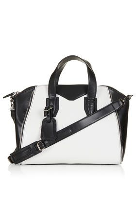 Topshop  Winged Zip Detail Handbag