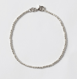 Maya Brenner Designs White Gold Diamond Cut Bracelet