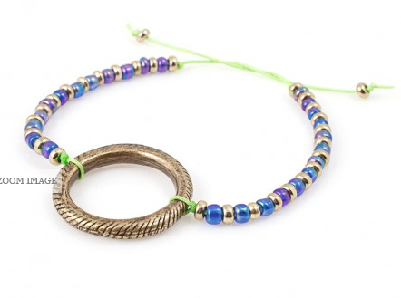 Vanessa Mooney The Rainbow Sky Friendship Bracelet