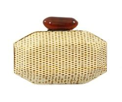 Nila Anthony Nila Anthony Woven Clutch