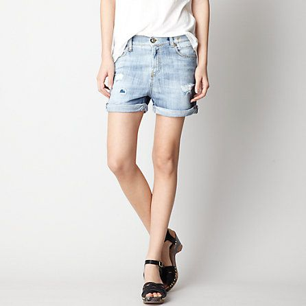 R13  Slouch Cut Off Shorts