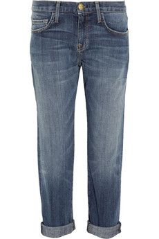 Current/Elliott  The Boyfriend Straight-Leg Jeans