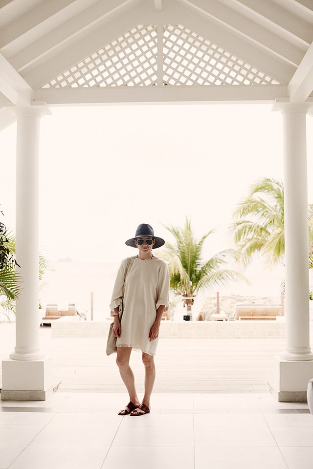 Who: Baie de Flamands  What: Before lunch at La Case de l'Isle, Power visited the Cheval Blanc Spa, a must-do on the list. This sanctuary is nestled in the heart of tropical gardens and...