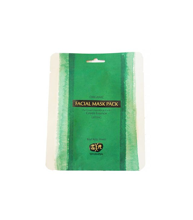 Whamisa Organic Sea Kelp Facial Mask Pack