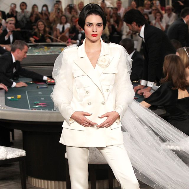 Kendall Jenner Was a Tomboy Bride at Chanel Couture