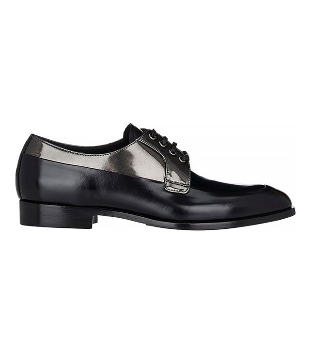 Prada Tapered-Toe Oxfords