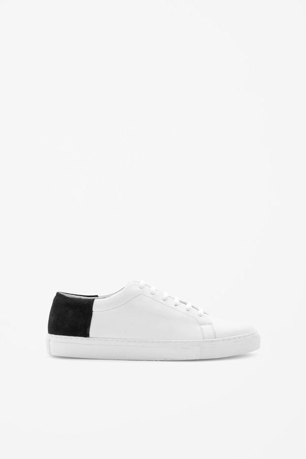 COS Suede Paneled Sneakers