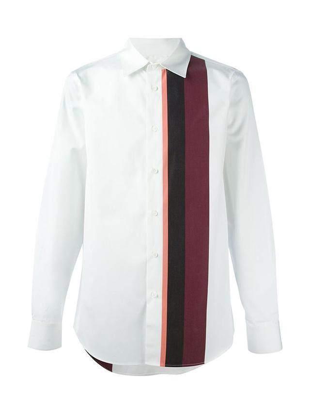 Marni Striped Panel Shirt